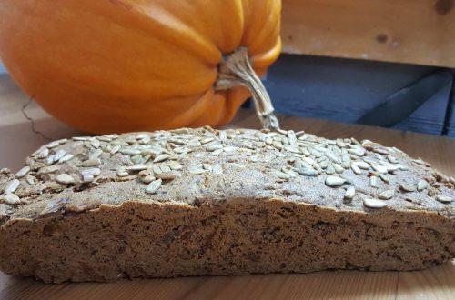 безглутенов тиквен хляб