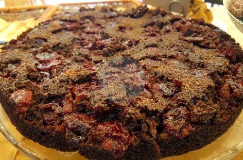 Днес е ред на десерт с рожков. Ако питате къде е шоколада или какаото- няма да имате нужда от него.