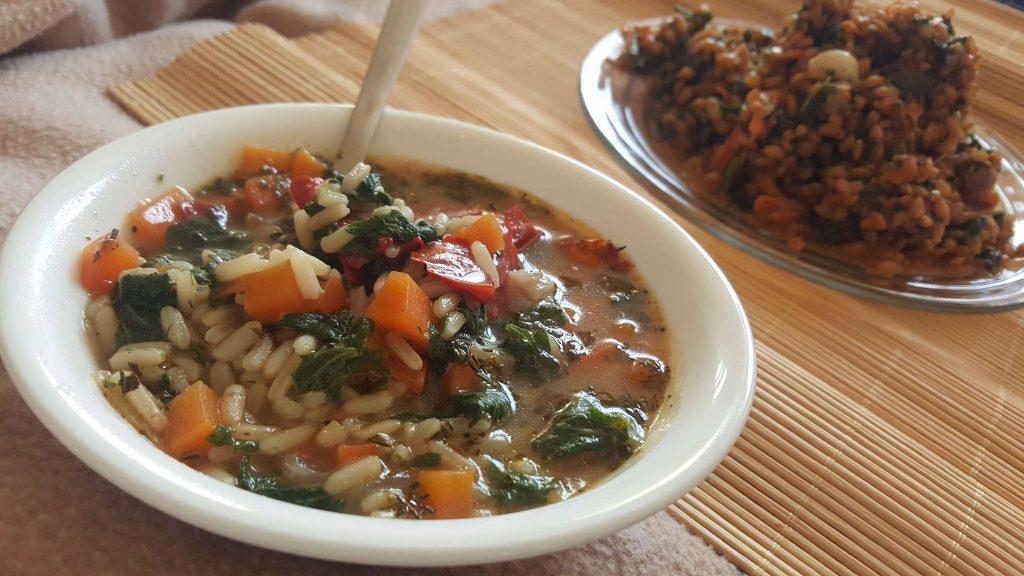 супа и яхния коприва