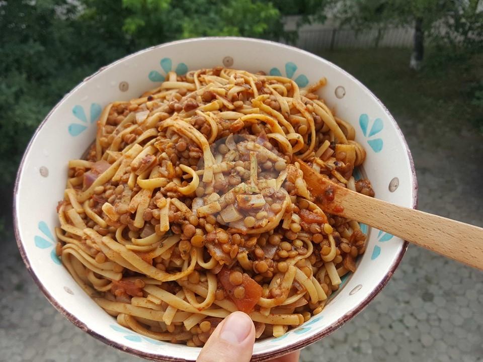 бързи спагети в една тенджера