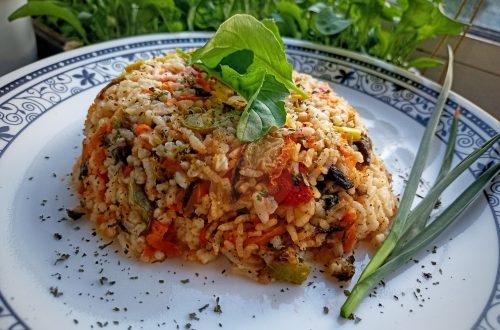 Постен ориз без мазнина